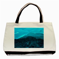 Mendenhall Ice Caves 1 Basic Tote Bag (two Sides)  by trendistuff