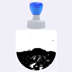 Mendenhall Ice Caves 1 Rubber Round Stamps (large) by trendistuff