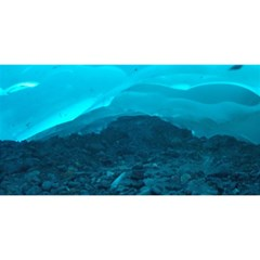 MENDENHALL ICE CAVES 1 YOU ARE INVITED 3D Greeting Card (8x4)  by trendistuff