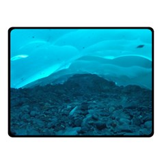 MENDENHALL ICE CAVES 1 Double Sided Fleece Blanket (Small)  by trendistuff