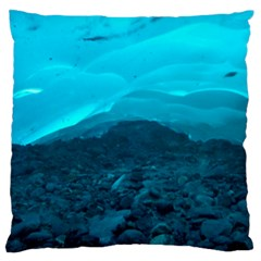 Mendenhall Ice Caves 1 Large Flano Cushion Cases (two Sides)  by trendistuff