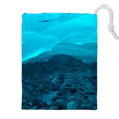 Mendenhall Ice Caves 1 Drawstring Pouches (xxl) by trendistuff