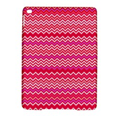 Valentine Pink And Red Wavy Chevron Zigzag Pattern Ipad Air 2 Hardshell Cases by PaperandFrill