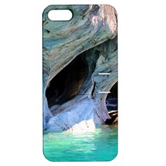 Marble Caves 2 Apple Iphone 5 Hardshell Case With Stand by trendistuff