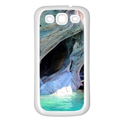Marble Caves 2 Samsung Galaxy S3 Back Case (white) by trendistuff