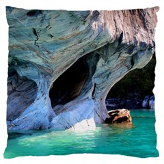 Marble Caves 2 Standard Flano Cushion Cases (one Side)  by trendistuff