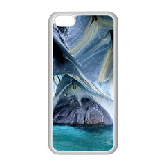 Marble Caves 1 Apple Iphone 5c Seamless Case (white) by trendistuff
