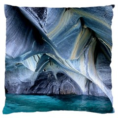 Marble Caves 1 Large Flano Cushion Cases (two Sides)  by trendistuff