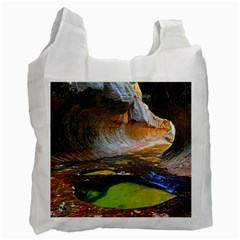 Left Fork Creek Recycle Bag (two Side)  by trendistuff