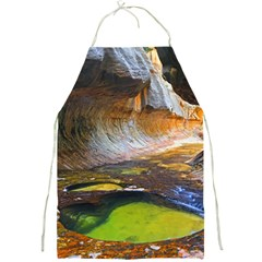 Left Fork Creek Full Print Aprons by trendistuff
