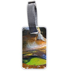 Left Fork Creek Luggage Tags (two Sides) by trendistuff