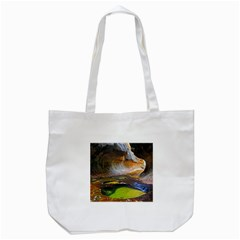 Left Fork Creek Tote Bag (white)  by trendistuff