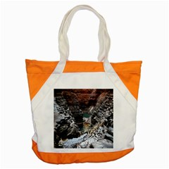 Karijini Canyon Accent Tote Bag  by trendistuff