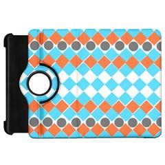 Tribal Pattern Kindle Fire Hd Flip 360 Case by JDDesigns