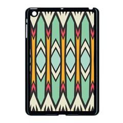 Rhombus And Arrows Patternapple Ipad Mini Case (black) by LalyLauraFLM