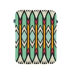 Rhombus And Arrows Patternapple Ipad 2/3/4 Protective Soft Case by LalyLauraFLM
