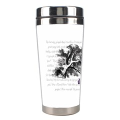 Cheshire Cat Stainless Steel Travel Tumblers by waywardmuse