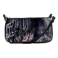 Fingals Cave Shoulder Clutch Bags by trendistuff