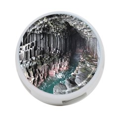 Fingals Cave 4 Port Usb Hub (one Side) by trendistuff