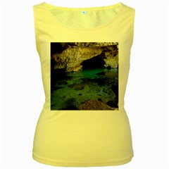 CHAPADA DIAMANTINA 2 Women s Yellow Tank Tops by trendistuff