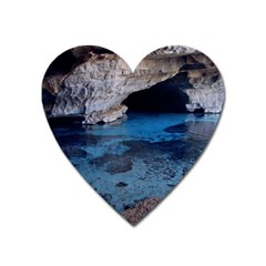 Chapada Diamantina 2 Heart Magnet by trendistuff