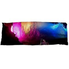 Cave In Iceland Body Pillow Cases (dakimakura)  by trendistuff