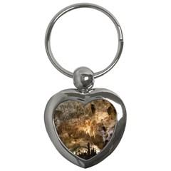 Carlsbad Caverns Key Chains (heart)  by trendistuff