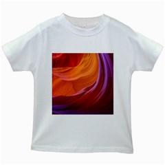Antelope Canyon 2m Kids White T Shirts by trendistuff