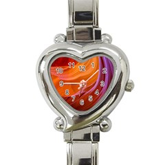 Antelope Canyon 2m Heart Italian Charm Watch by trendistuff