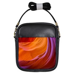 Antelope Canyon 2m Girls Sling Bags by trendistuff