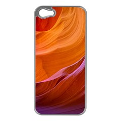 Antelope Canyon 2m Apple Iphone 5 Case (silver) by trendistuff