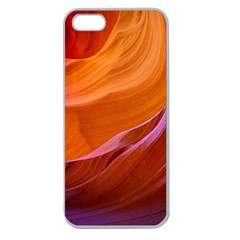 Antelope Canyon 2m Apple Seamless Iphone 5 Case (clear) by trendistuff