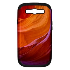 Antelope Canyon 2m Samsung Galaxy S Iii Hardshell Case (pc+silicone) by trendistuff
