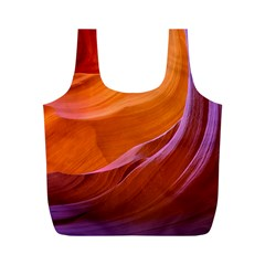 Antelope Canyon 2m Full Print Recycle Bags (m)  by trendistuff