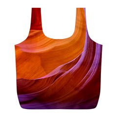 Antelope Canyon 2m Full Print Recycle Bags (l)  by trendistuff