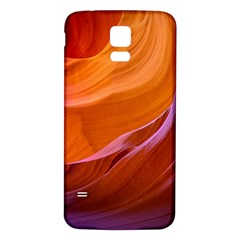 Antelope Canyon 2m Samsung Galaxy S5 Back Case (white) by trendistuff