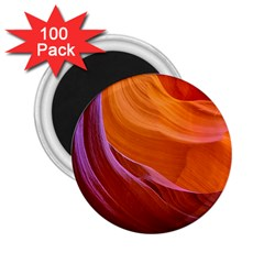 Antelope Canyon 2 2 25  Magnets (100 Pack)  by trendistuff