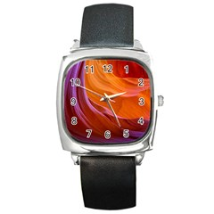 Antelope Canyon 2 Square Metal Watches by trendistuff