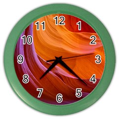 Antelope Canyon 2 Color Wall Clocks by trendistuff