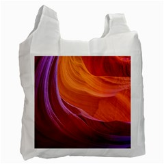 Antelope Canyon 2 Recycle Bag (two Side)  by trendistuff
