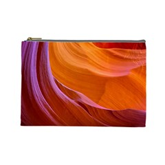 Antelope Canyon 2 Cosmetic Bag (large)  by trendistuff