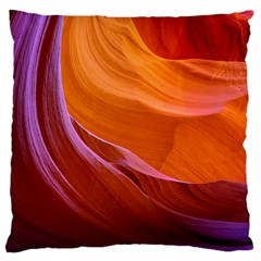 Antelope Canyon 2 Large Cushion Cases (one Side)  by trendistuff