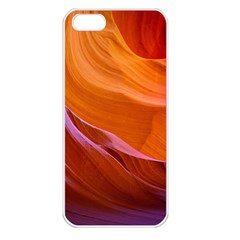 Antelope Canyon 2 Apple Iphone 5 Seamless Case (white) by trendistuff