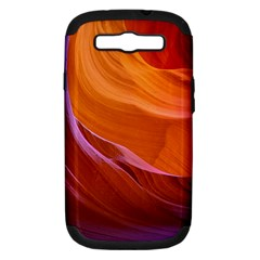 Antelope Canyon 2 Samsung Galaxy S Iii Hardshell Case (pc+silicone) by trendistuff
