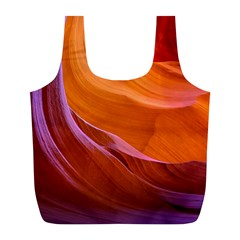 Antelope Canyon 2 Full Print Recycle Bags (l)  by trendistuff
