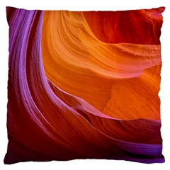 Antelope Canyon 2 Standard Flano Cushion Cases (one Side)  by trendistuff