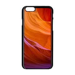 Antelope Canyon 2 Apple Iphone 6/6s Black Enamel Case by trendistuff