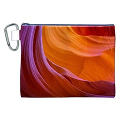 Antelope Canyon 2 Canvas Cosmetic Bag (xxl)  by trendistuff