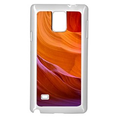 Antelope Canyon 2 Samsung Galaxy Note 4 Case (white) by trendistuff