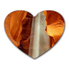 Antelope Canyon 1 Heart Mousepads by trendistuff